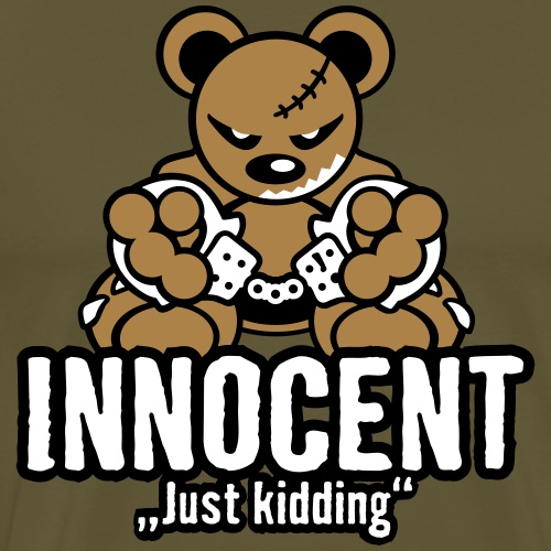 Teddy »Innocent« - Color - Männer Premium T-Shirt
