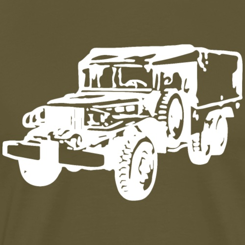 AVM Dodge 6x6 Weapons Carrier WC63 - White