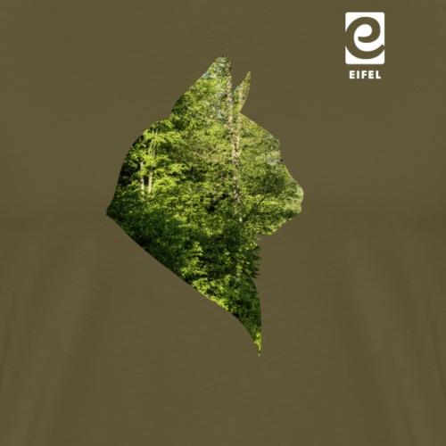 Eifel Wildkatze - weiß - Männer Premium T-Shirt