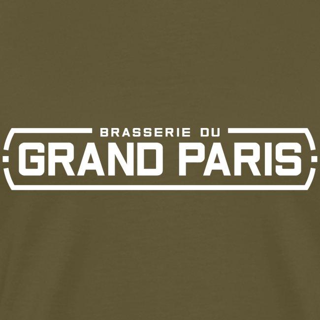 Logo Brasserie du Grand Paris blanc