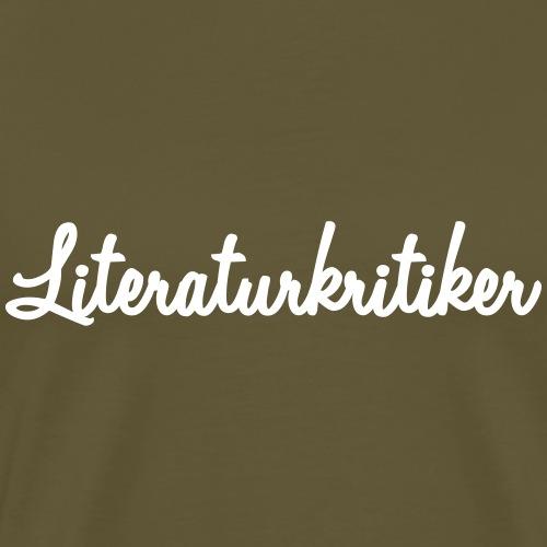 literaturkritiker - Männer Premium T-Shirt