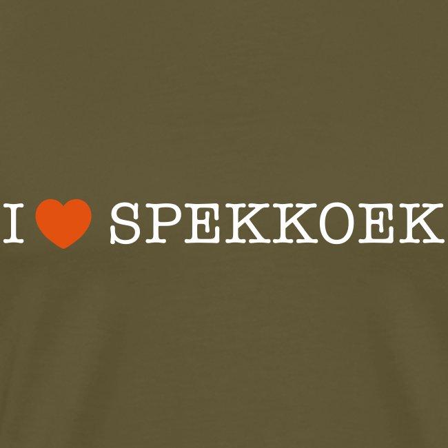I Love Spekkoek