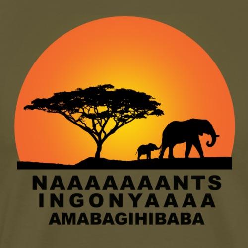 GOOD MORNING AFRICA - T-shirt Premium Homme