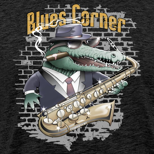 Blues Corner Crocodile - Cool clothes and girts