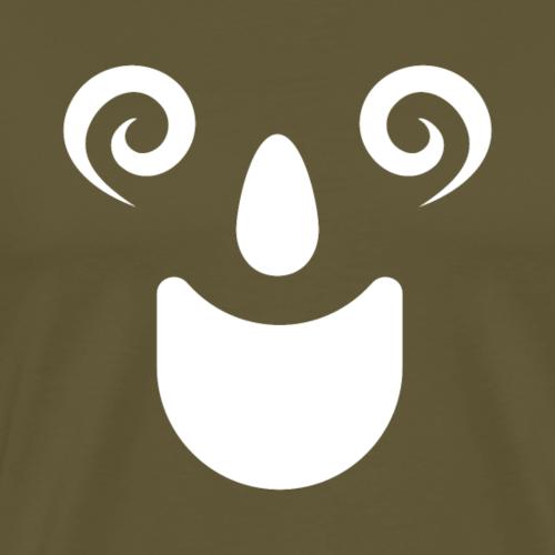 Grinsen - Männer Premium T-Shirt