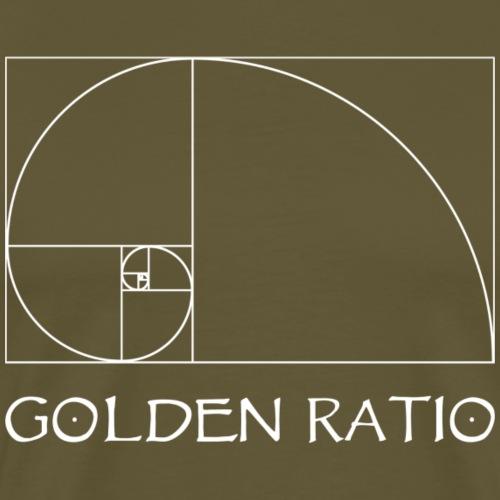 golden ratio - Camiseta premium hombre
