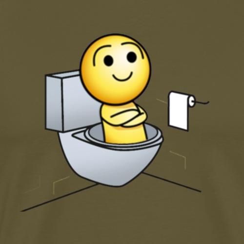 Hap Toilettes - T-shirt Premium Homme