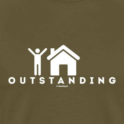 Outstanding - Mannen Premium T-shirt