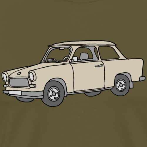 Trabi, Trabant (papyrus) - Mannen Premium T-shirt