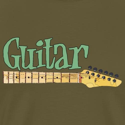 guitar4 2 - Männer Premium T-Shirt