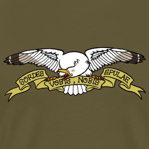goéland méchant - T-shirt Premium Homme