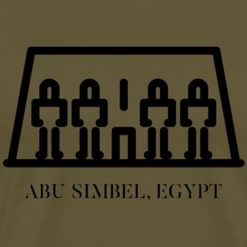 ABU SIMBEL EGYPT - BLACK - T-shirt Premium Homme