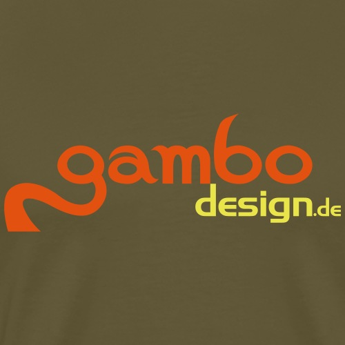 gambo design - Männer Premium T-Shirt