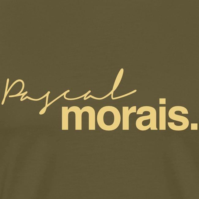 Pascal Morais logo creme/mocha
