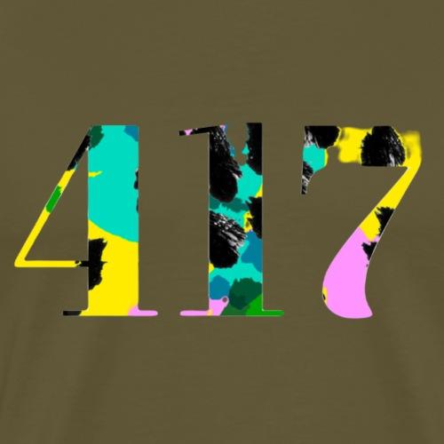 Rumble in the 417 jungle - Premium-T-shirt herr