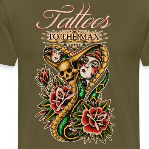 Tattoos to the Max - Cobra - Männer Premium T-Shirt