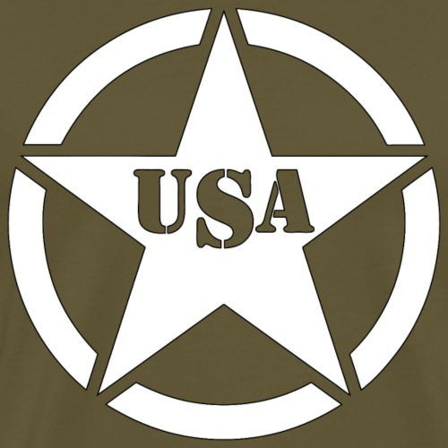USA star - T-shirt Premium Homme
