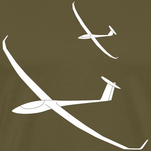 Segelflugzeuge Team Thermik gleiten Pilot - Männer Premium T-Shirt