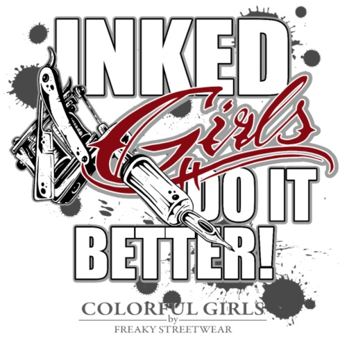 inked girls do it better - Männer Premium T-Shirt