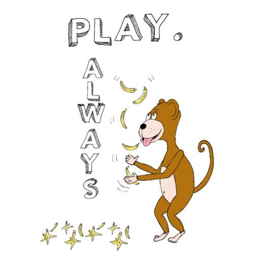 PLAY ALWAYS - JUGGLER MONKEY - Circus Lover