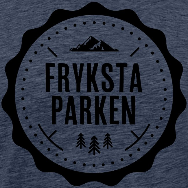 Frykstaparken logo vit