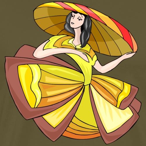 Bailarinas: La Dama de Oro - Camiseta premium hombre