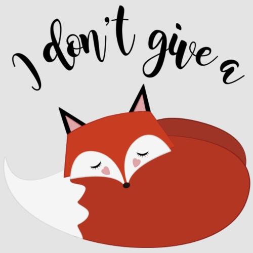 I dont give a fox! - Premium-T-shirt herr