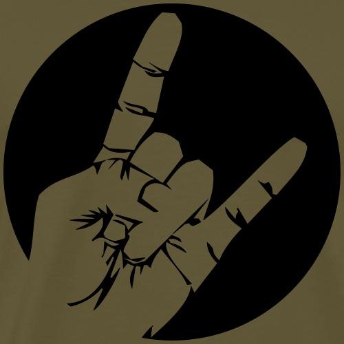 Rockfinger - Männer Premium T-Shirt