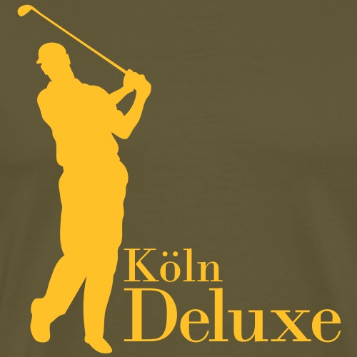 Golfer Motiv Köln Deluxe - Männer Premium T-Shirt