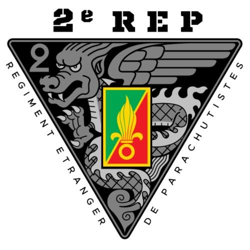 2e REP - 2 REP - Legion - Badge - Dark - Men's Premium T-Shirt