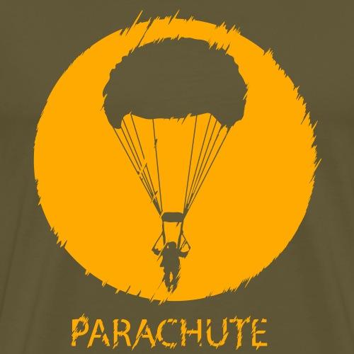 Parachute V2 Glitch - Männer Premium T-Shirt