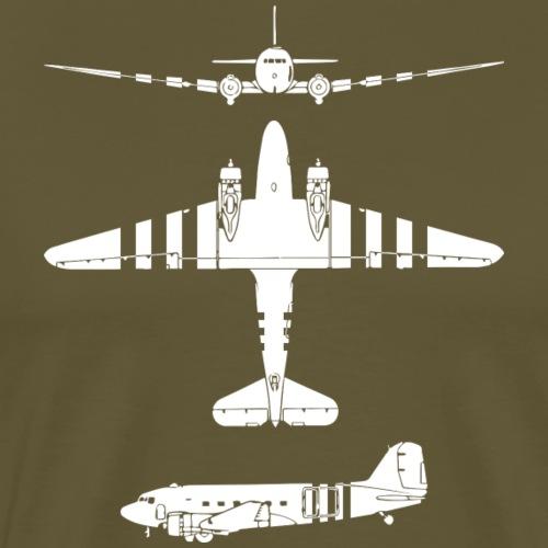 AVM WWII Skytrain C-47 Dakota Market-Garden White