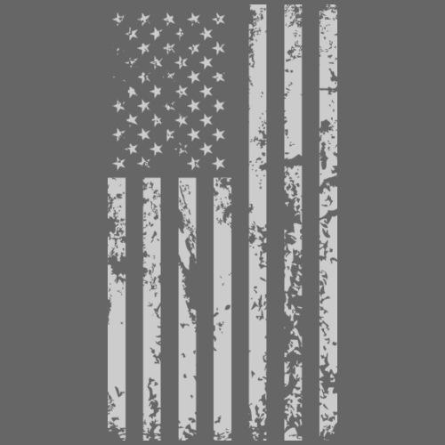 Bandera de Estados Unidos - Camiseta premium hombre