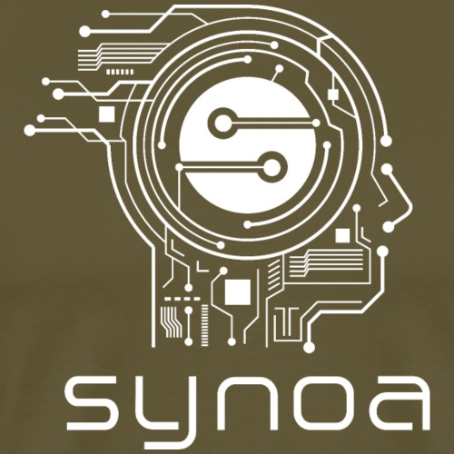 Synoa Head white - Men's Premium T-Shirt
