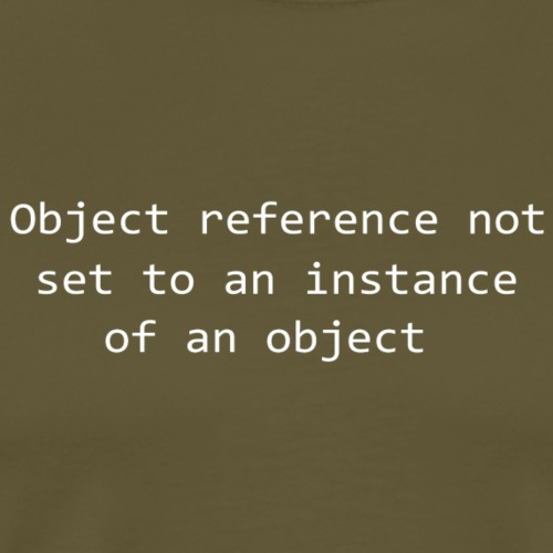 Object Reference - White - Men's Premium T-Shirt