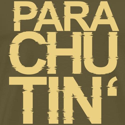 Parachute Glitch v2 - Männer Premium T-Shirt