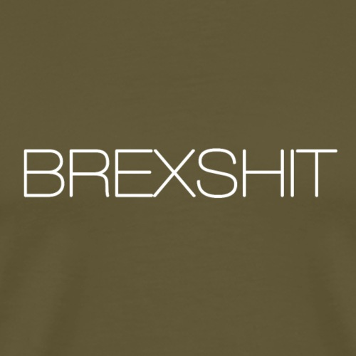 BREXSHIT white - Men's Premium T-Shirt
