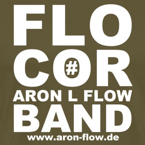 FLO COR white - Männer Premium T-Shirt