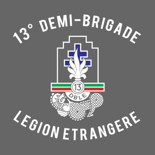 13e DBLE - Demi Brigade - Legion - Men's Premium T-Shirt