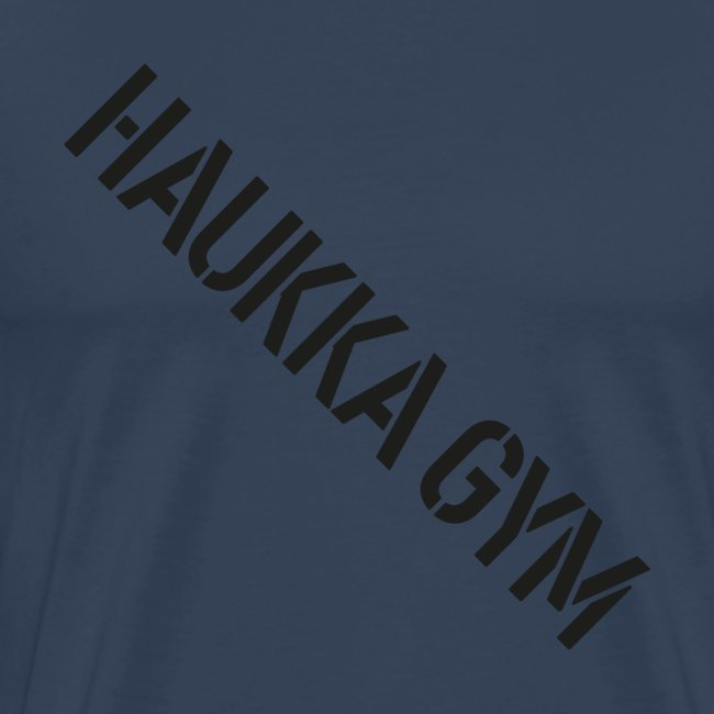 HAUKKA GYM text