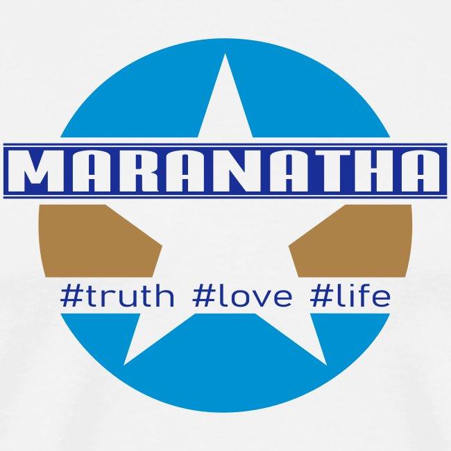 maranatha blau-braun
