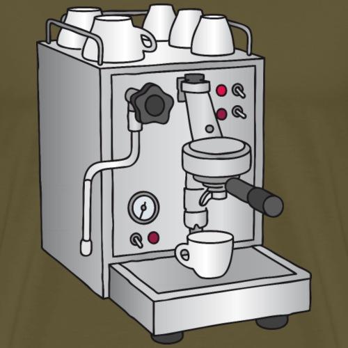 Macchina per caffè espresso - Maglietta Premium da uomo