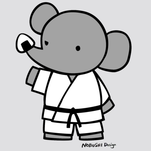Elephant - Mannen Premium T-shirt