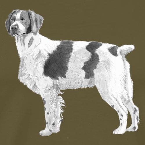 Brittany - Breton - Herre premium T-shirt