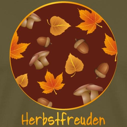 Herbstfreuden - Männer Premium T-Shirt