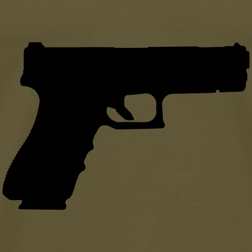 Pistol 88 - Glock 17C - Premium-T-shirt herr