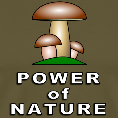 POWER OF NATURE - Männer Premium T-Shirt