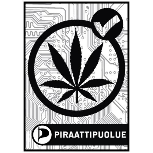 Kannabis lailliseksi - Miesten premium t-paita