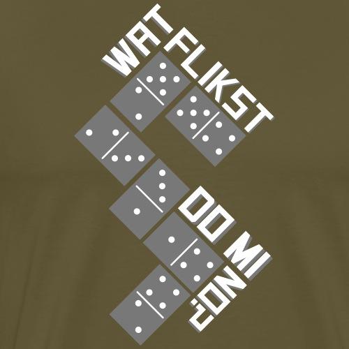 Domino - Mannen Premium T-shirt