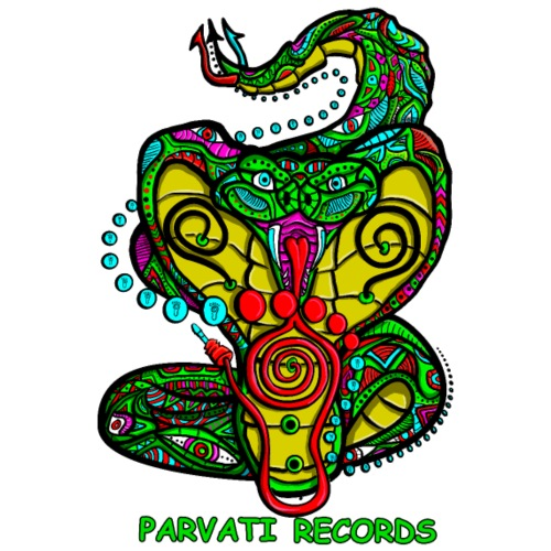 Parvati Records Cobra by Juxtaposed HAMster - Men's Premium T-Shirt